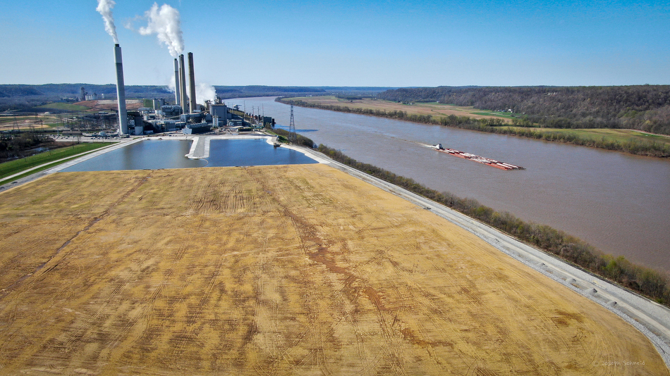 The coal ash waste storage ponds have been improved at Louisville Gas and Electric's Mill Creek Generating Station after the company illegally dumped toxins into the Ohio River.