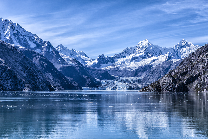 West of Juneau, Alaska, Glacier Bay NP is a national monument and UNESCO World Heritage Site.