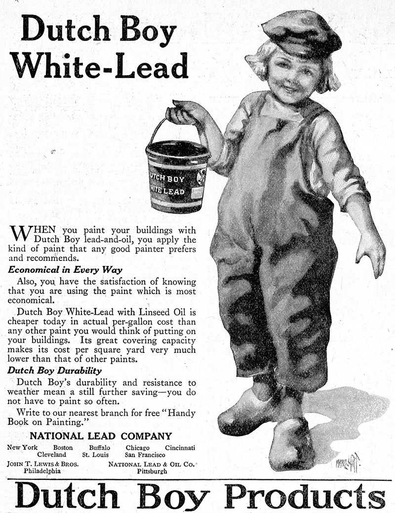 Lead paint ad