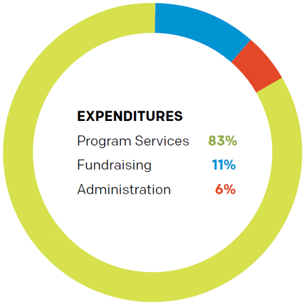 Chart: Expenditures.