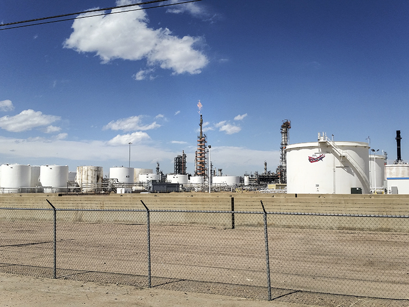 Suncor Refinery in Commerce City, Colorado