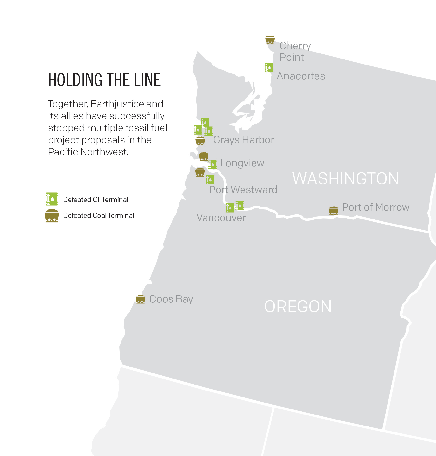 A growing number of Pacific Northwest communities are rejecting proposed oil and coal export terminals.