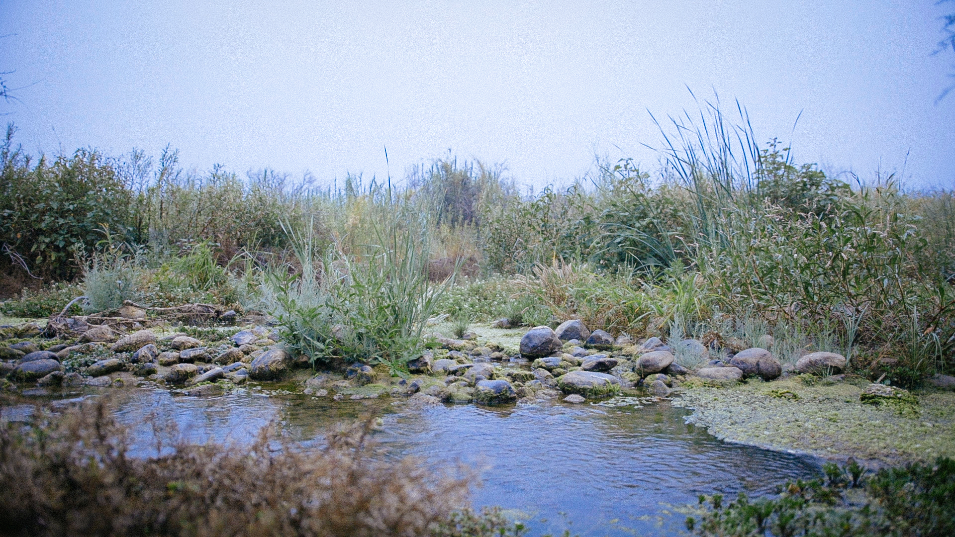 The <i>Utom</i>, the Santa Clara River.