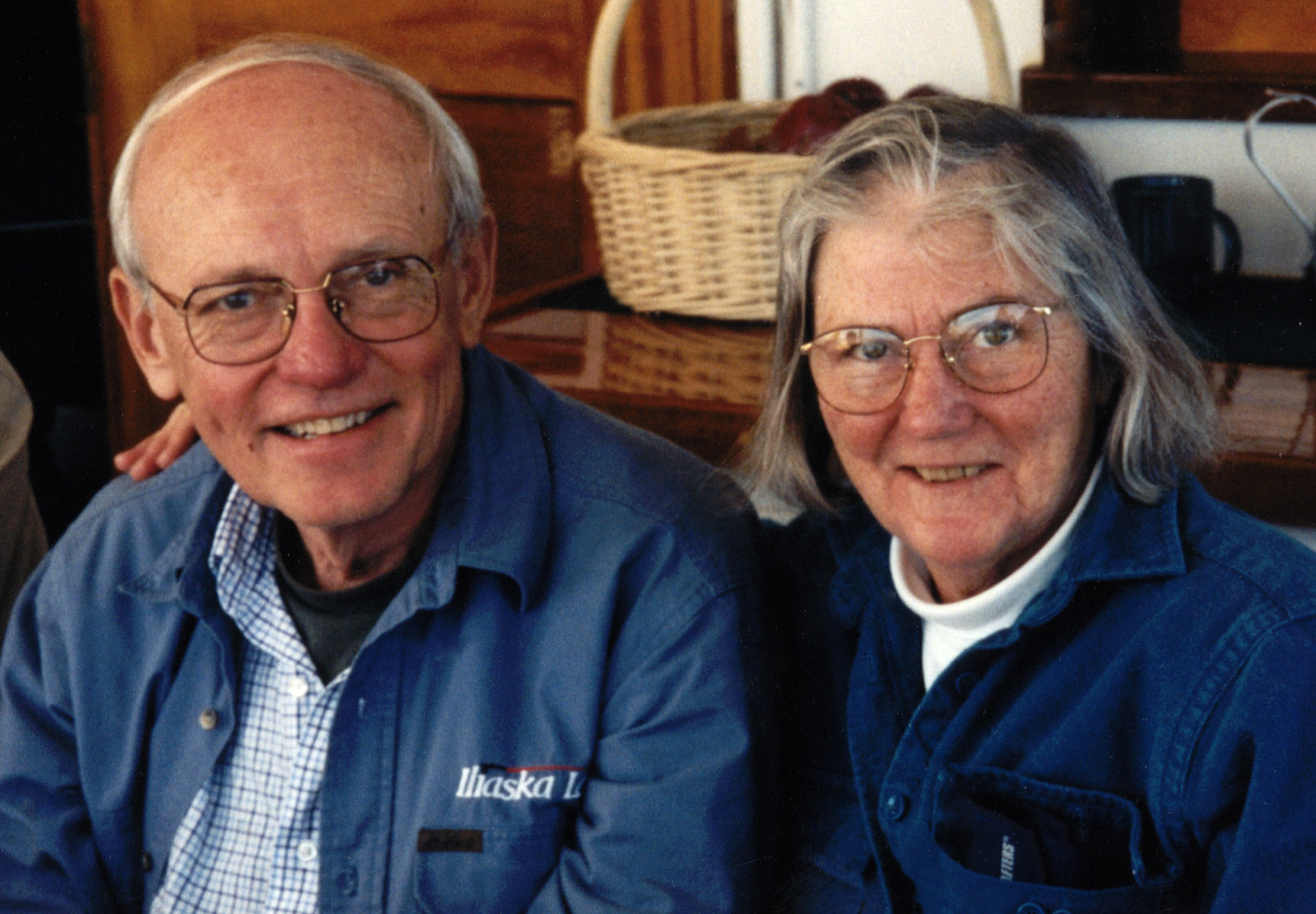 Don Harris and his wife, Janet