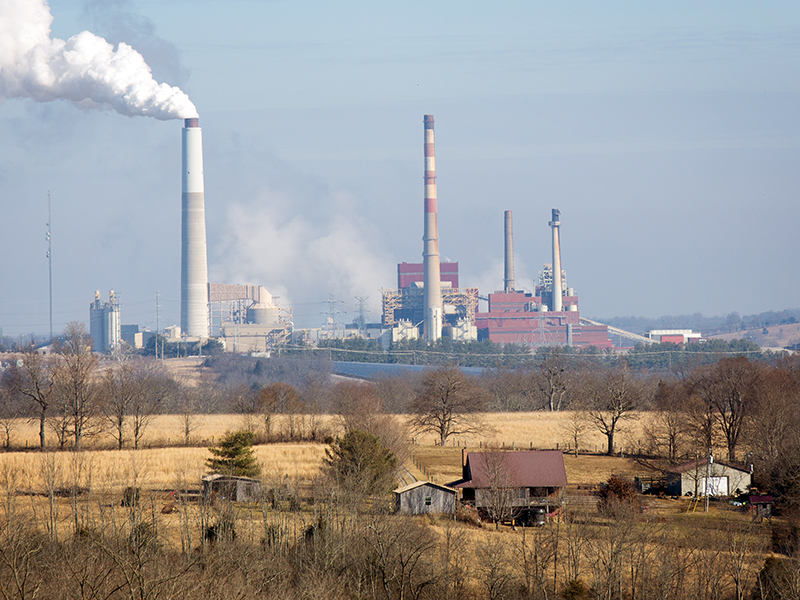 The E.W. Brown Power Plant near Harrodsburg, Kentucky, is leaching contaminants such as selenium into the nearby groundwater.