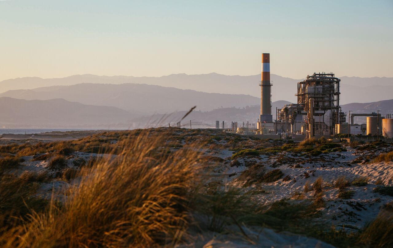 Earthjustice is fighting a proposed natural gas power plant at this site in Oxnard, Calif.