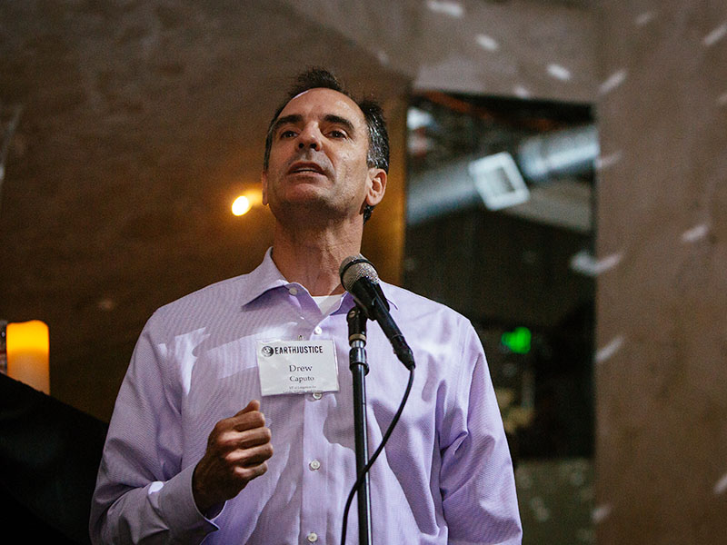 Drew Caputo, Earthjustice Vice President of Litigation for Lands, Wildlife, and Oceans.