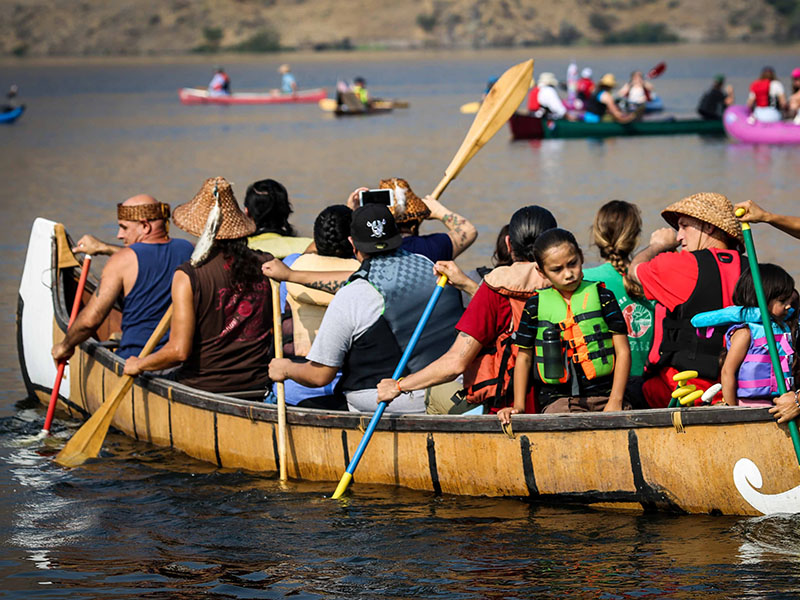 The passion and energy of the day's participants fuel the fight to restore the Snake River.