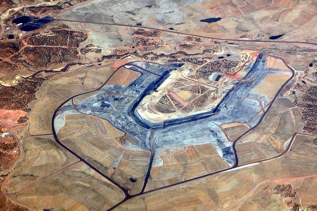The Kayenta Coal Mine in Arizona is operated by the Peabody Western Coal Company.