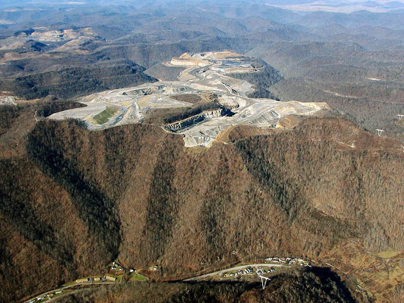 In the last few decades, mountaintop removal mining has flattened an area the size of Delaware.