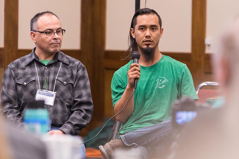 Piengkham, at the Treaty Rights in a Changing Environment conference, in March, 2017.