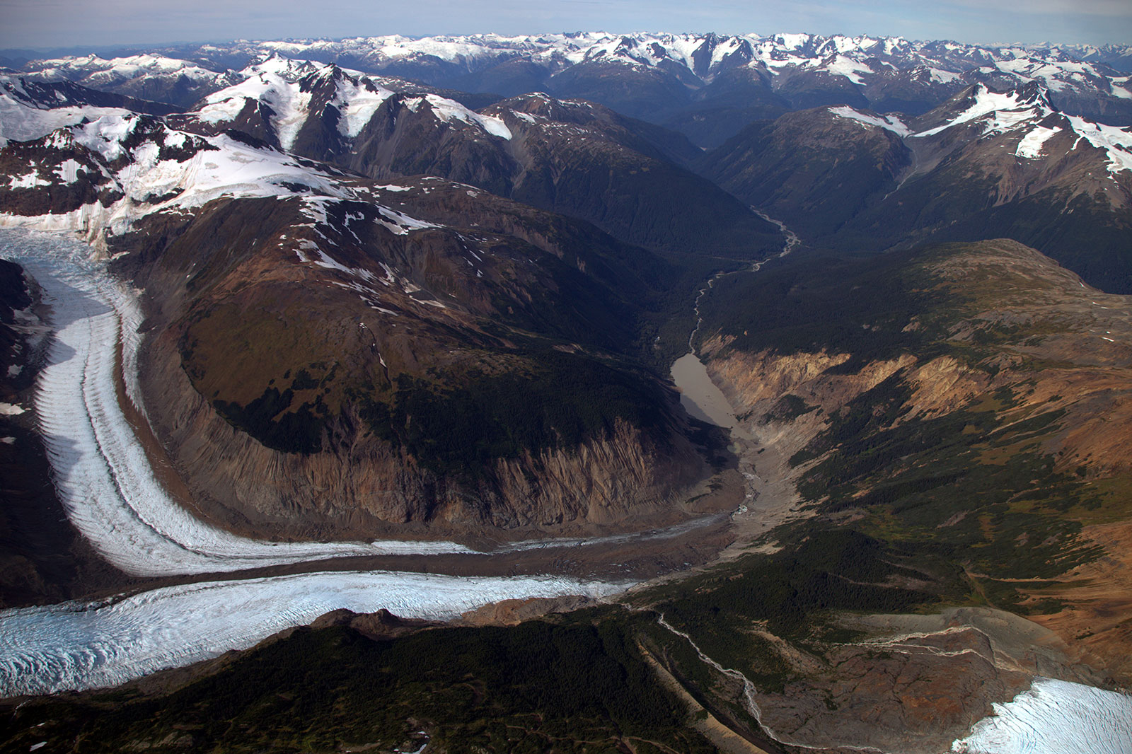 The proposed KSM Mine is located in the upper Unuk River watershed.