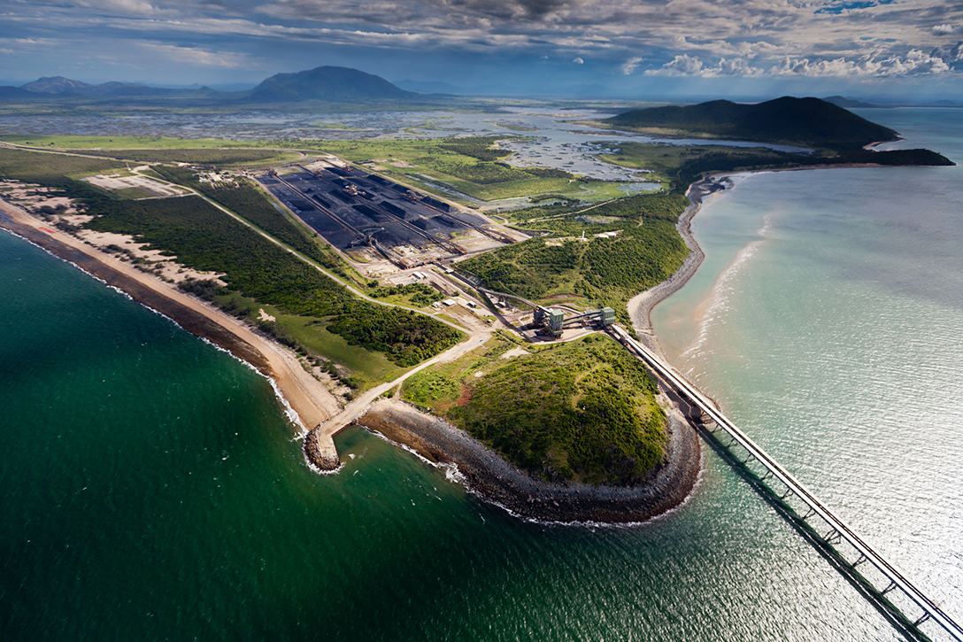 Abbot Point is the northernmost coal export terminal in Australia, sitting on the edge of the Great Barrier Reef.
