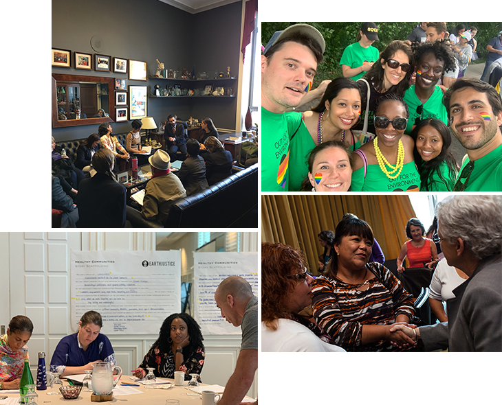 "Photos from Earthjustice's ""Diversity, Equity, and Inclusion"" plans."