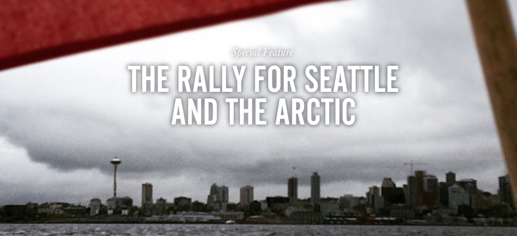 The rally for seattle and the arctic earthjustice sciox Choice Image