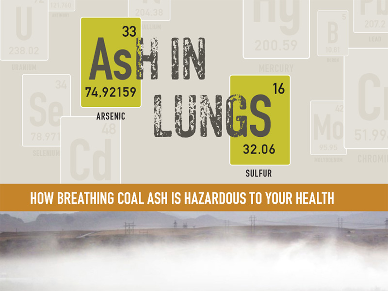 Ash in Lungs: How Breathing Coal Ash is Hazardous to Your Health