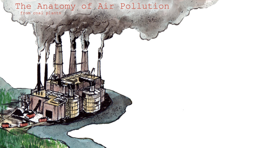 The Anatomy of Air Pollution from Coal Plants.