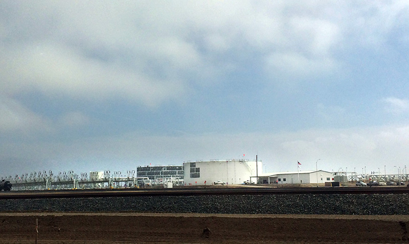 The newly opened Bakersfield Crude Terminal in Taft.
