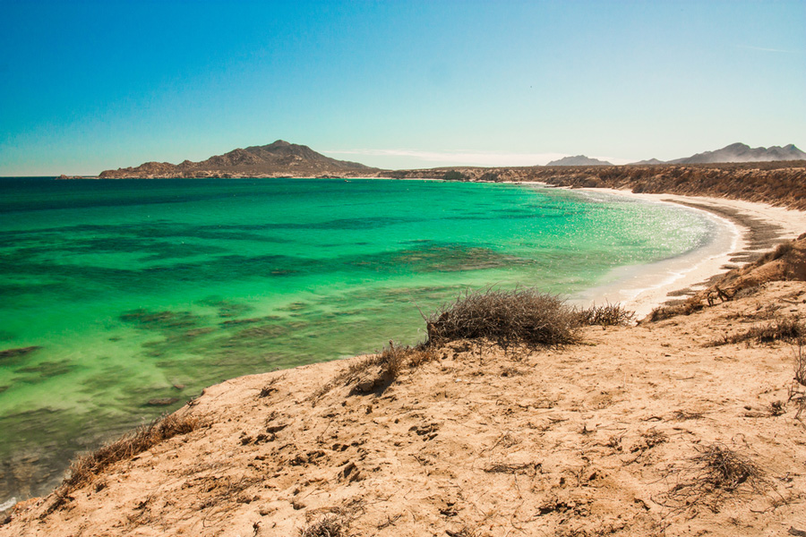 The Bay of Cabo Pulmo, Mexico