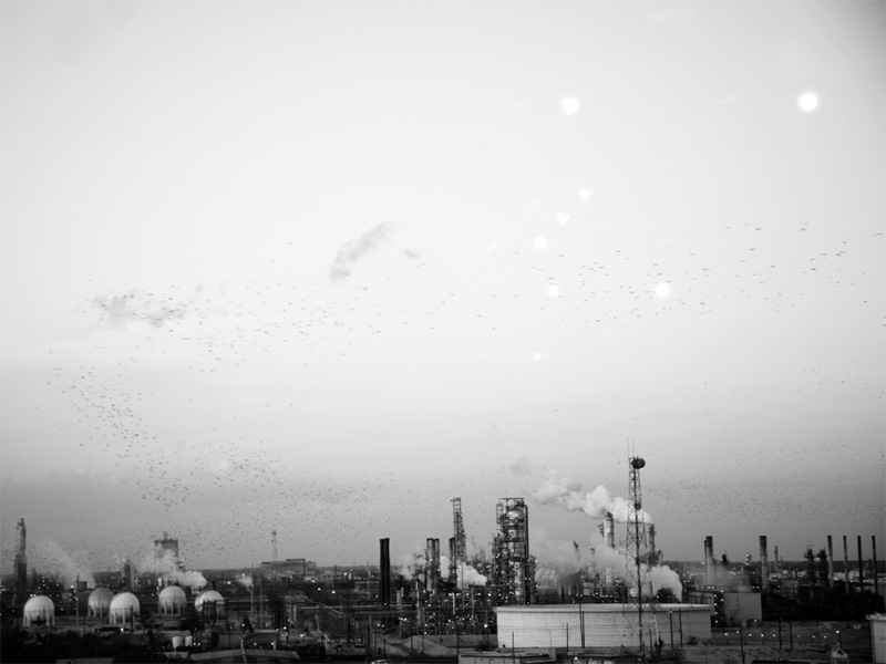 The ExxonMobil Beaumont refinery in Texas.