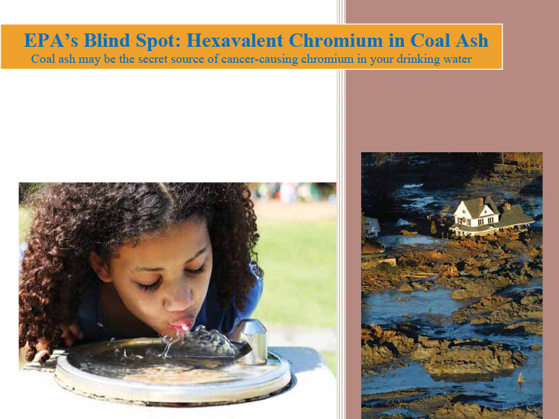 EPA's Blind Spot: Hexavalent Chromium in Coal Ash