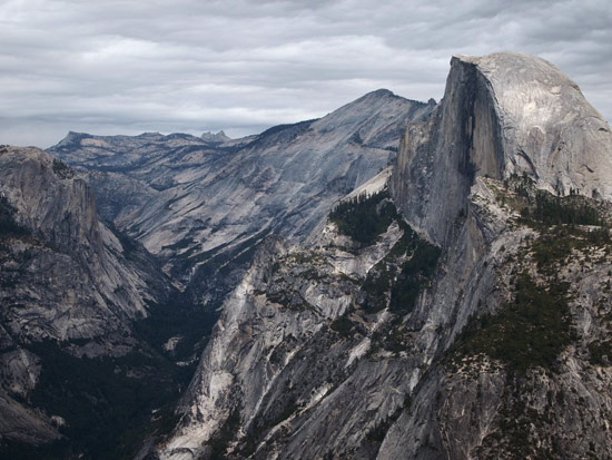 Half Dome and Cloud's Rest. (Sam Edmondson)