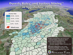 Poverty Rates and Surface Mining in Appalachia.