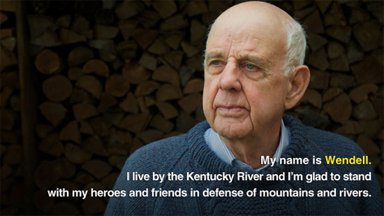Wendell Berry. (Chris Jordan-Bloch)
