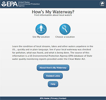 EPA My Waterway