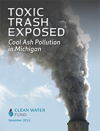 Coal Ash Pollution in Michigan.