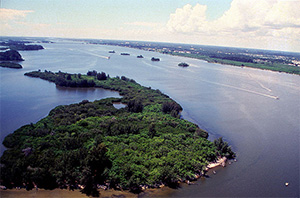 Indian River Lagoon in Florida. (U.S. FWS)