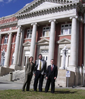 Earthjustice attorneys at the DeSoto County Courthouse.