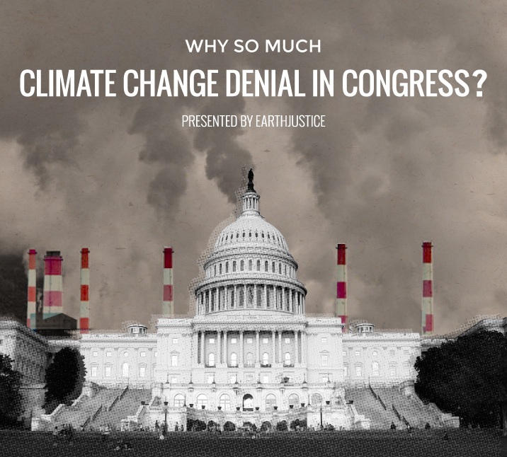 Infographic: Why so much climate change denial in Congress?