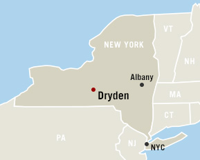 map of Dryden