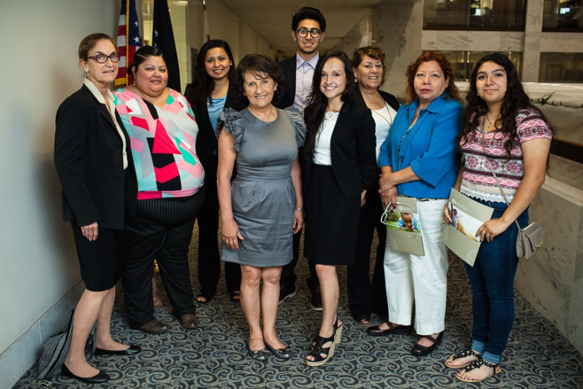 Farmworkers, former farmworkers and advocates visit Washington, D.C.