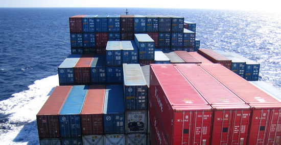 Shipping containers. Photo: Dorothy / Flickr.