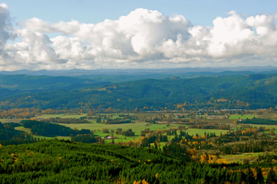 Willamette Valley, Oregon. (Don Hankins / Flickr)