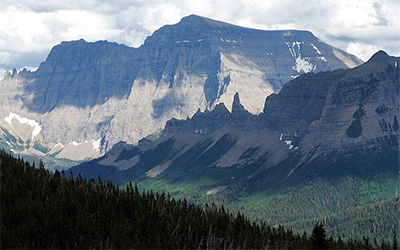 Mount Cleveland, the highest peak in Glacier National Park. (Gene Sentz)