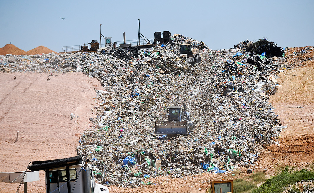 The Stone's Throw Landfill, near Tallassee, AL.