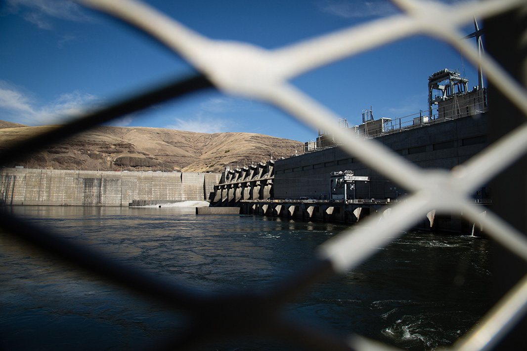Lower Granite Dam, one of the four dams on the Lower Snake River.