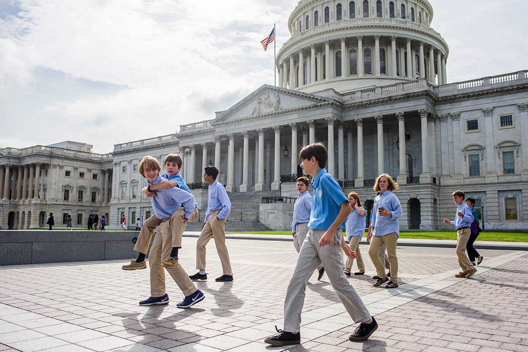 While many kids might visit Washington, D.C., on a school field trip, these students are at the nation's capital on a warm fall day this month to urge the U.S. Environmental Protection Agency and Congress to ban neurotoxic lead in the wheel weights on our cars.