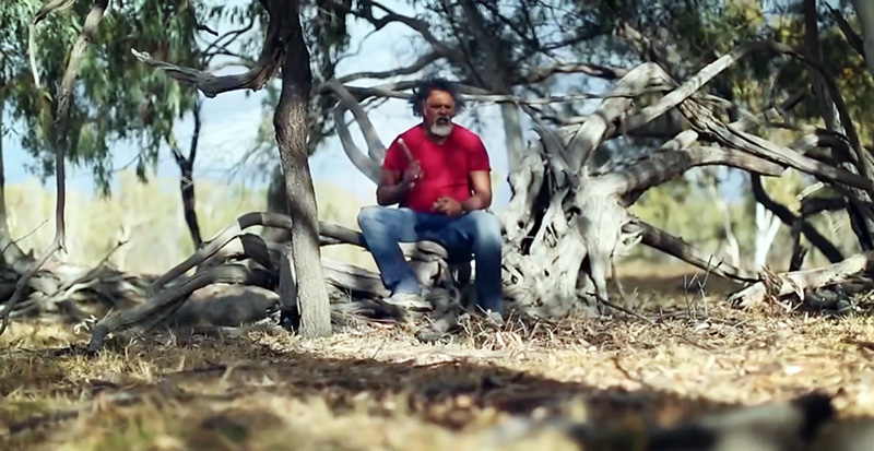 Adrian Burragubba is a Wangan and Jagalingou community elder.