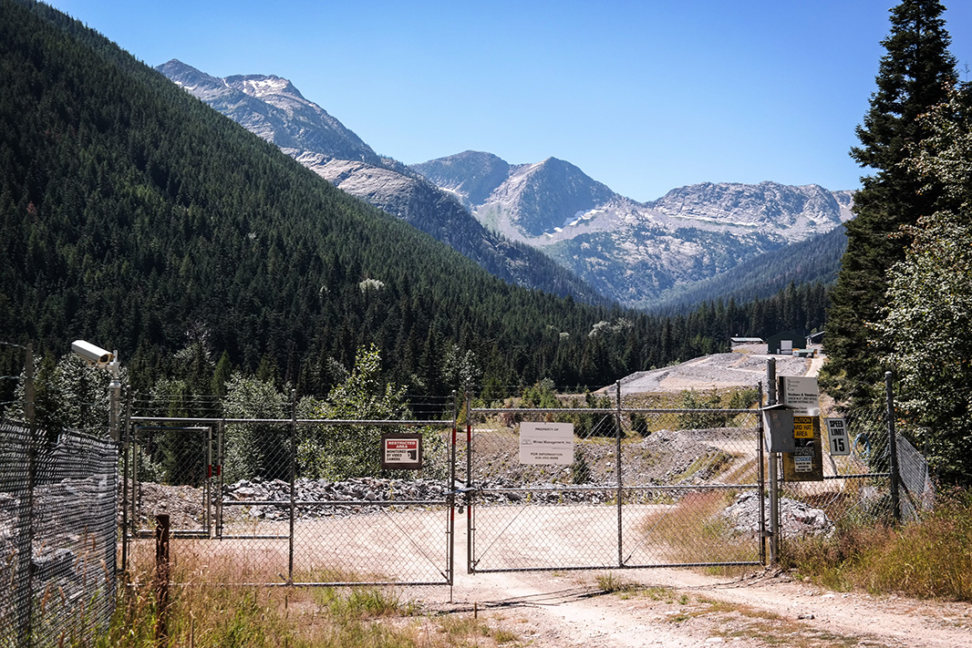 The Montanore Mine site on the eastern edge of the Cabinet Mountains Wilderness in July, 2016.