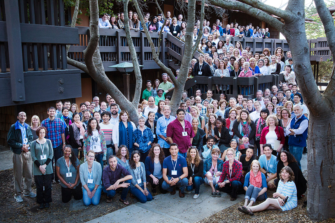 Earthjustice staff at Asilomar, California, in 2014.