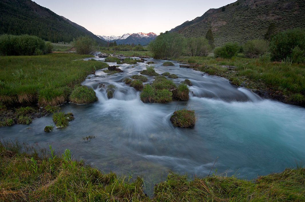 East fork of the Salmon River in Idaho.