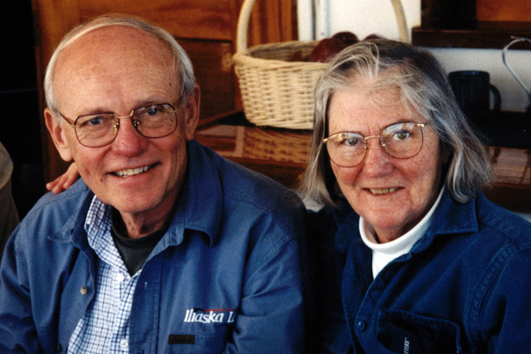 Don Harris with his wife Janet.