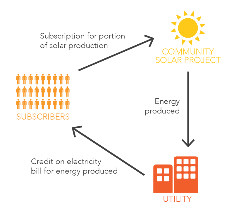 Infographic: How Community Solar Works