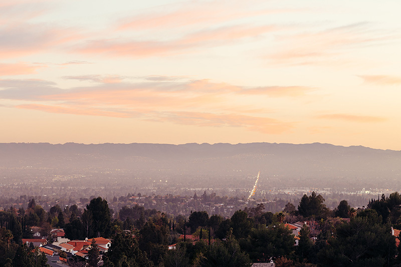 The San Fernando Valley.