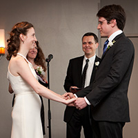 Fisk and his wife Kairol Rosenthal even jointly officiated Cmar's wedding to his wife Colleen Sarna in 2011.