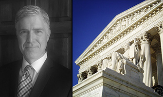 Neil Gorsuch and the U.S. Supreme Court.